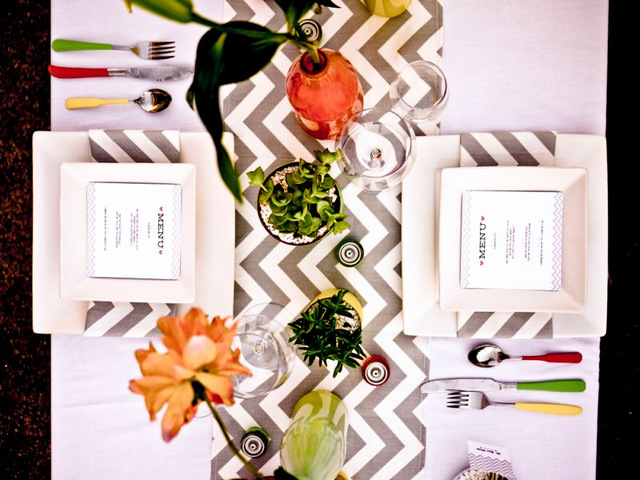 modern palm springs wedding shoot | Something Events