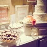 romantic peach malibu wedding
