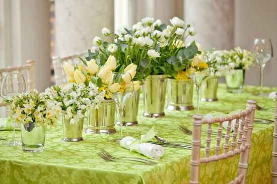 Spring Green Yellow Florals Oh Lovely Day