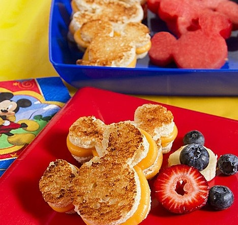 making fun food for kids