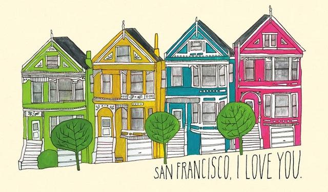 san francisco love by lisa congdon
