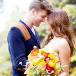 romantic bohemian engagement | Chris & Kristen Photography on Oh Lovely Day