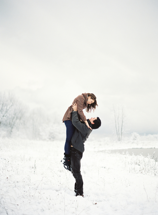 Making the Most of Your Winter Engagement Session | Oh ...