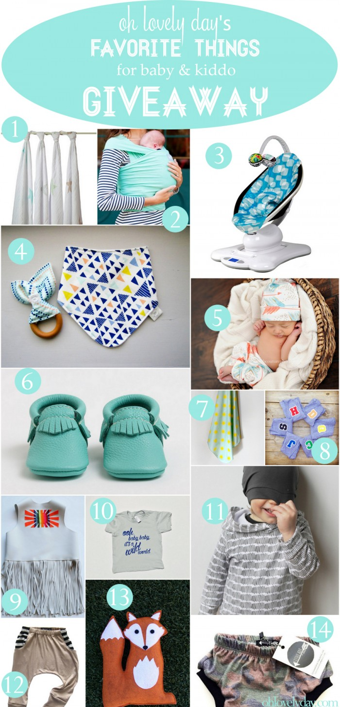 406f96491 Favorite Things for Littles Giveaway - Oh Lovely Day