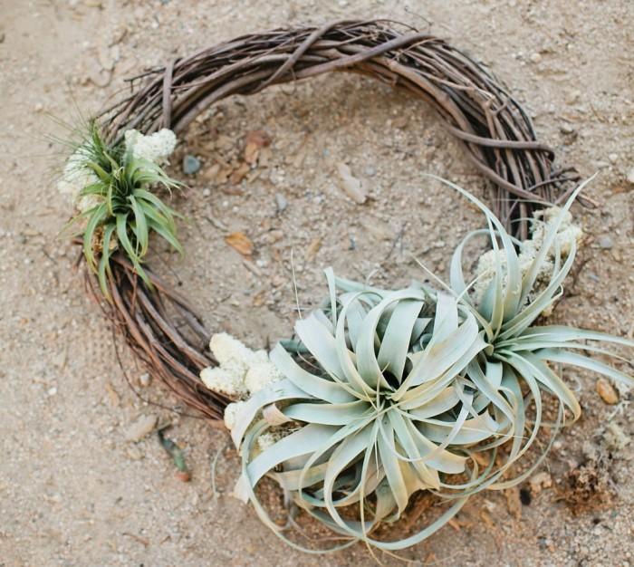 Air Plant Wreath DIY Tutorial | MV Florals + Megan Welker | Oh Lovely Day