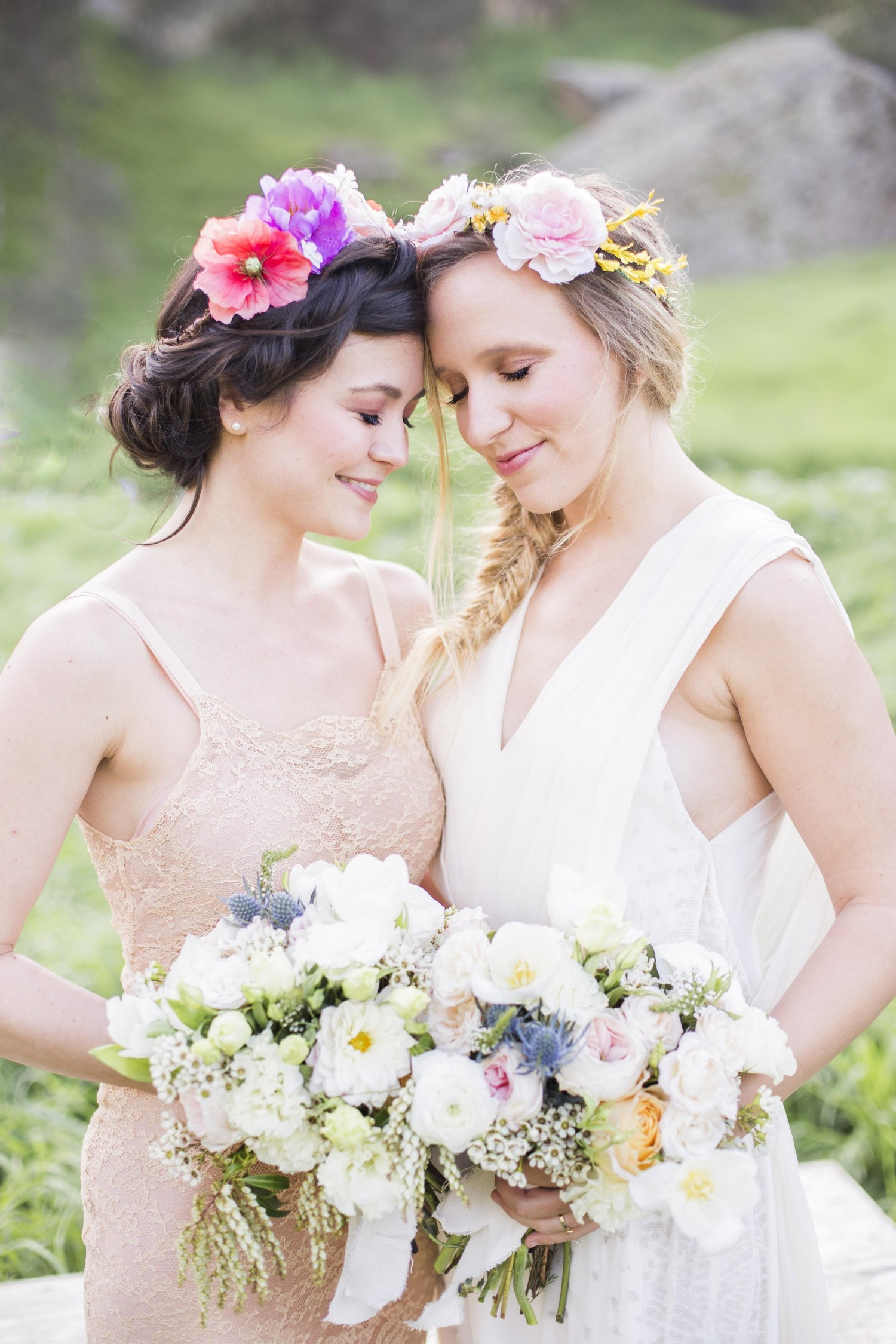 Pastel Bohemian Spring Wedding Inspiration from Reverie Supply & Beijos Events | Oh Lovely Day