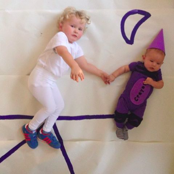 harold and the purple crayon costumes - Oh Lovely Day