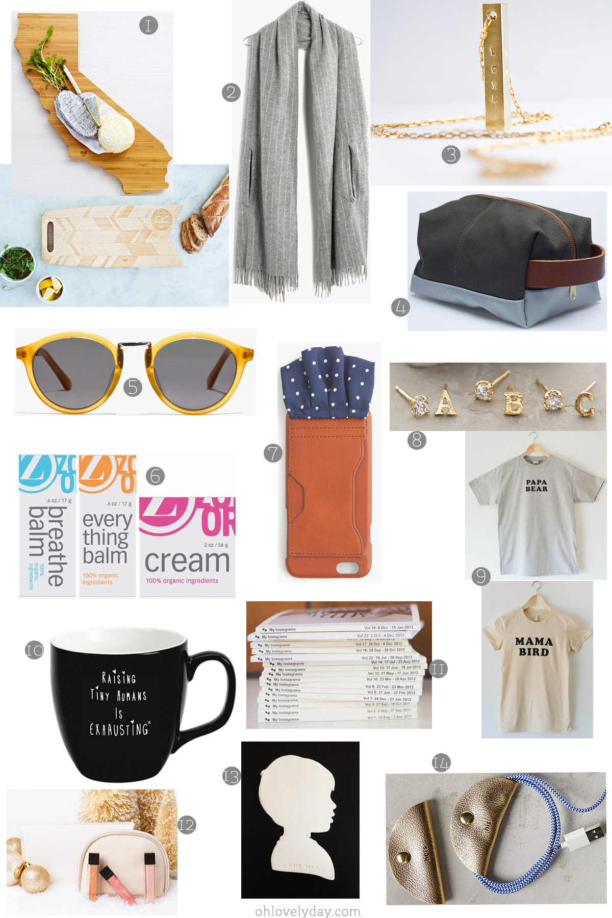 Oh Lovely Day Holiday Gift Guide for Grown Ups 2015