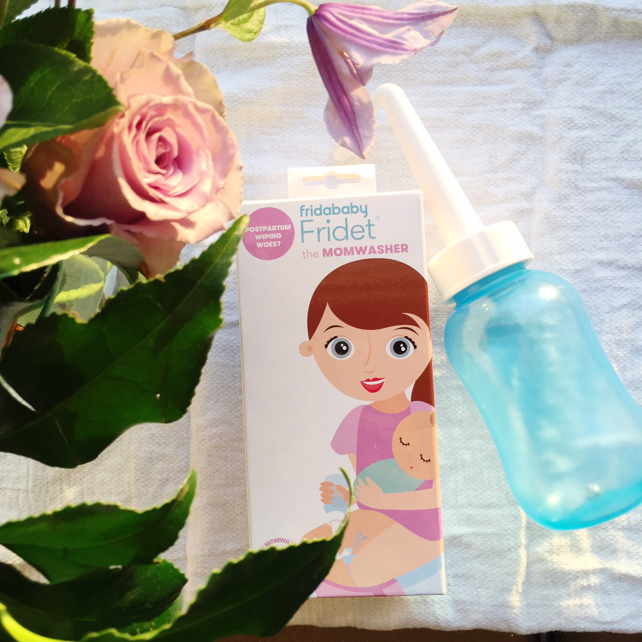 What to include in your Postpartum Survival Kit: The Fridababy MomWasher  Oh Lovely Day