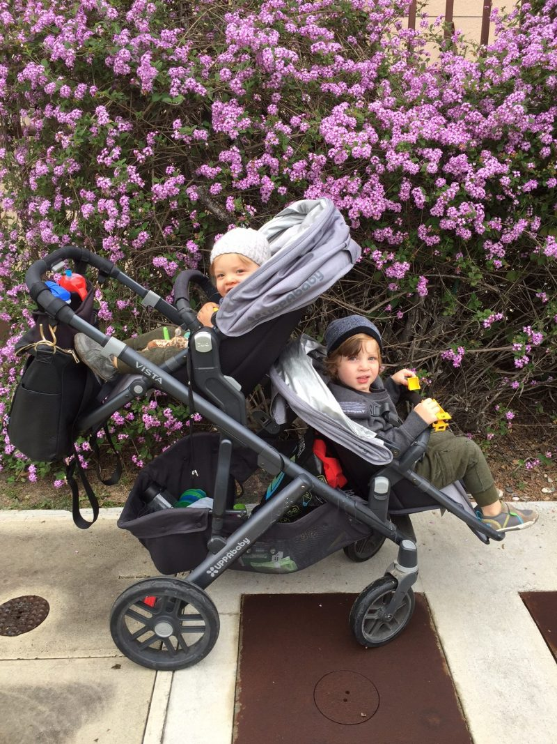 best stroller for 2 under 2.uppababy vista with rumbleseat