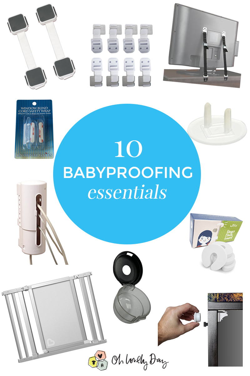 10 babyproofing essentials
