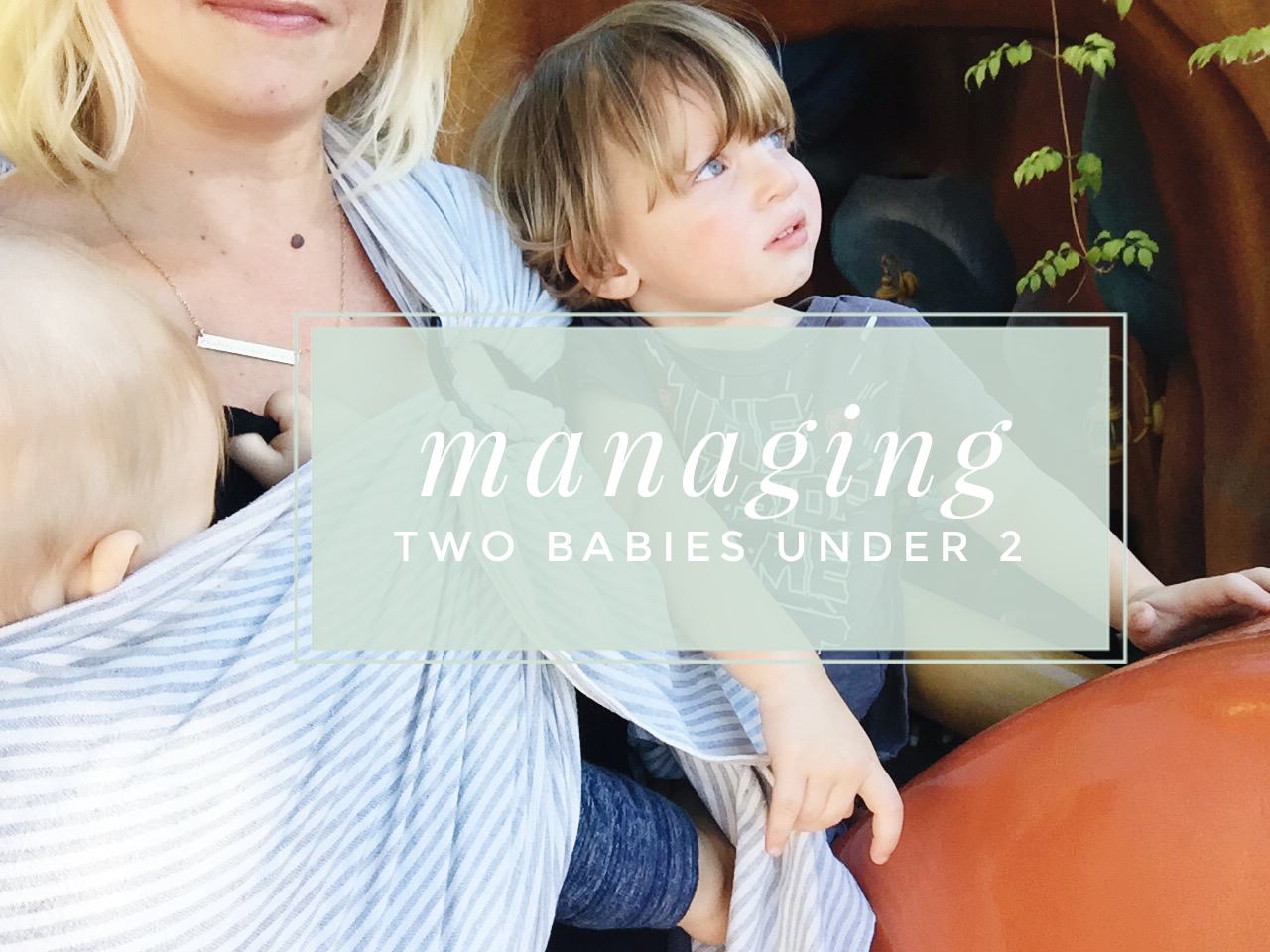 How To Breastfeed A Baby While Managing A Toddler + More Tips for
