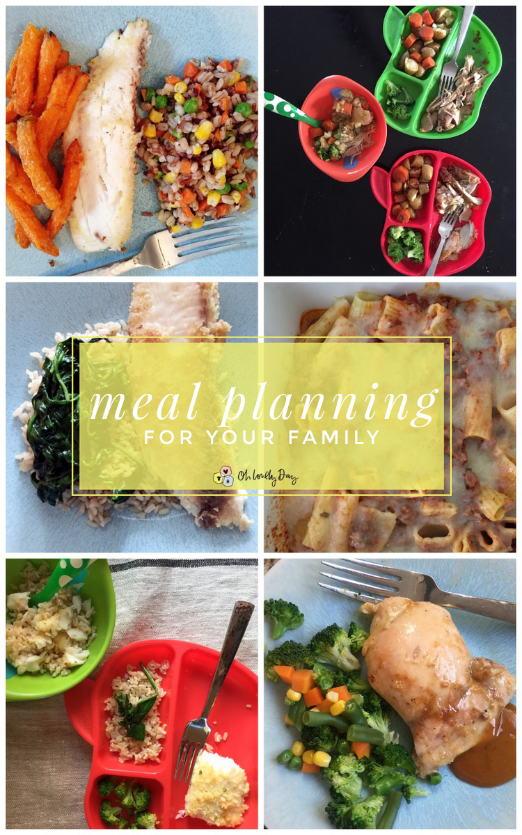 meal planning for your family