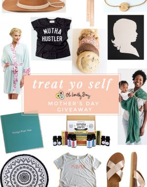 Mother's Day Gift Guide full of wonderful gift ideas for the mom in your life, plus a giveaway of all of it to one lucky momma! #treatyoselfgiveaway