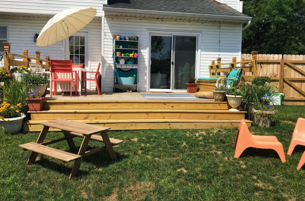 A Home Update: Our Deck Makeover