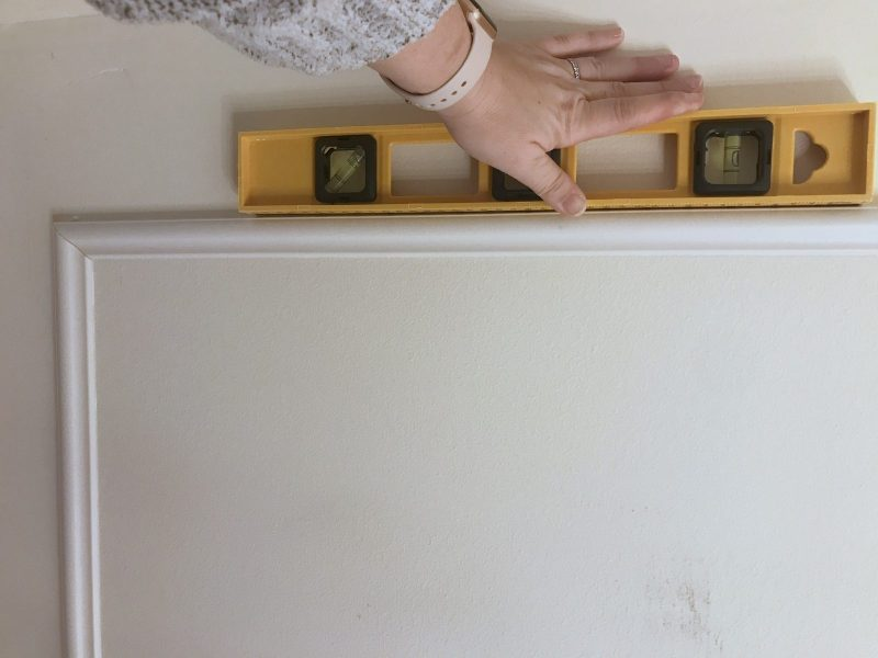 how to make your own faux wainscoting.16