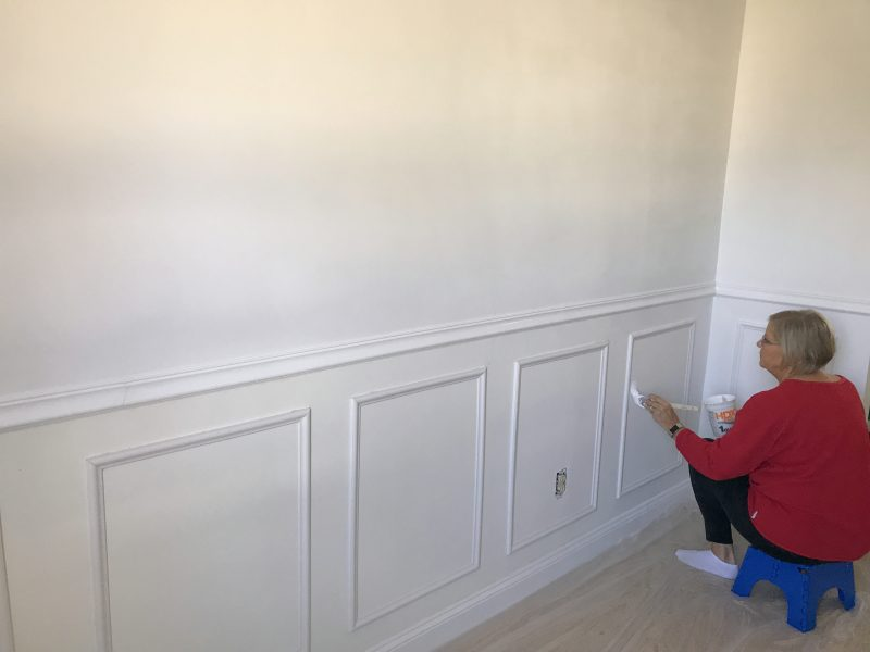 how to make your own faux wainscoting