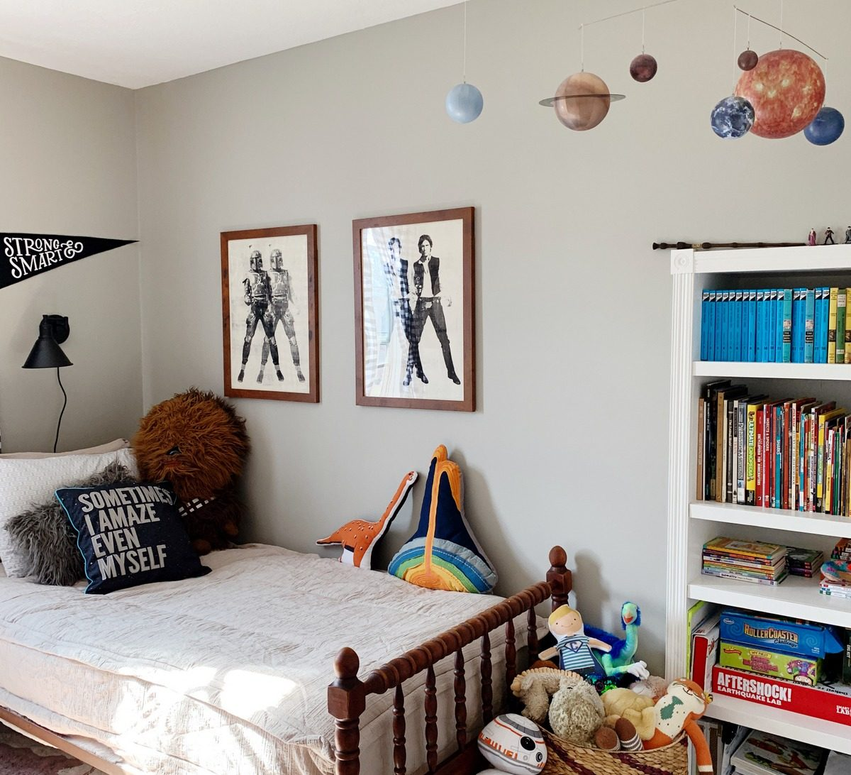 Charlie's Room Tour: A Big Kid Room for a Star Wars Lover