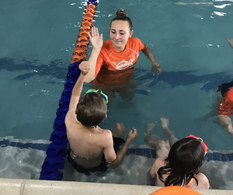 water safety tips from Goldfish swim school
