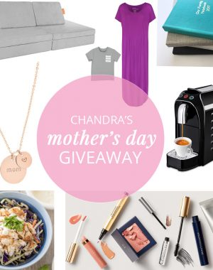 Chandra's Mother's Day Gift Guide Giveaway | ohlovelyday.com