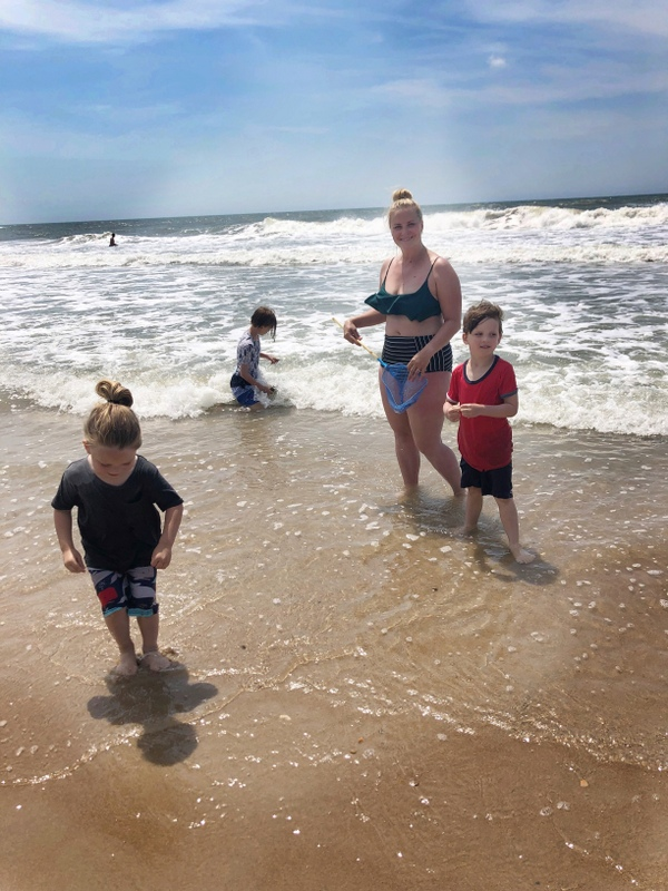 family travel to topsail and wilmington, NC