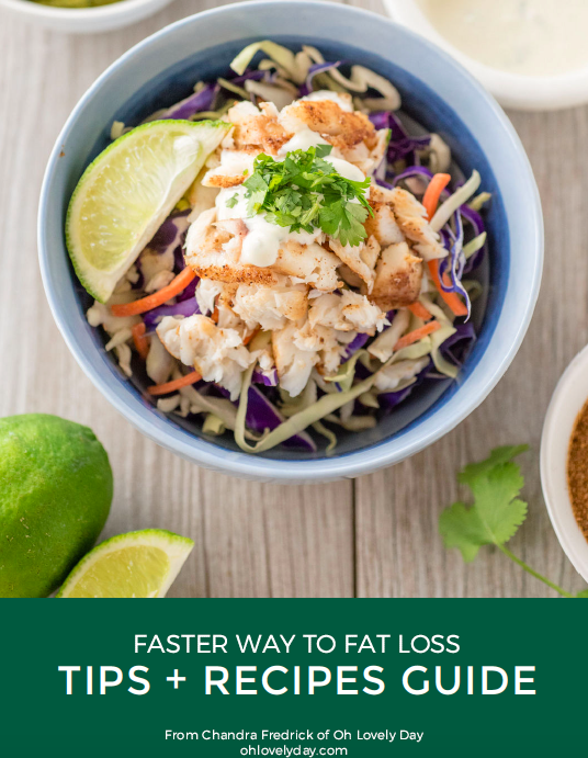 FWTFL Tips and Recipes Guide Companion for the FASTer Way To Fat Loss Program